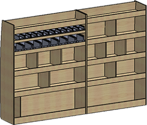 fourgon meuble gauche
