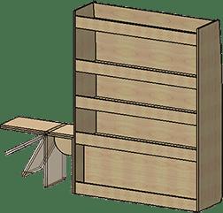 fourgon meuble droit