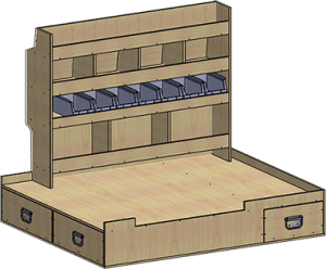 fourgonnette meuble gauche