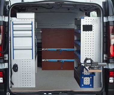 Equipement véhicule utilitaire plombier