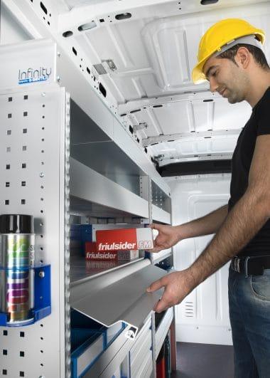 Aménagement utilitaire aluminium