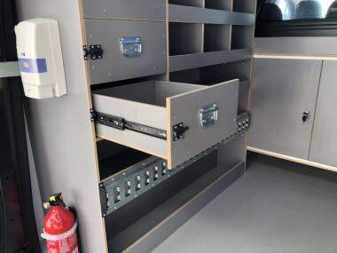 Rangement utilitaire tiroir
