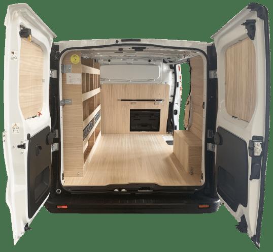 aménagement véhicule utilitaire_bois