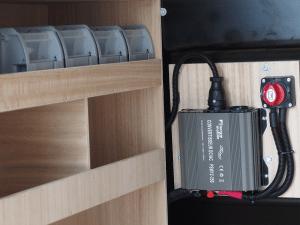Convertisseur équipement utilitaire