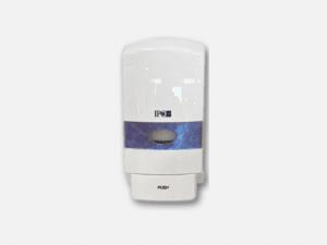 Distributeur gel hydroalcoolique ou savon véhicule utilitaire