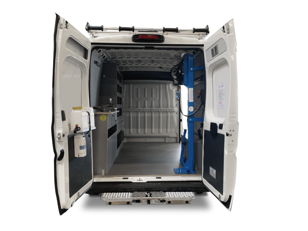 aménagement fourgon sd services