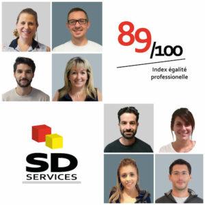 index égalité professionnelle SD Services
